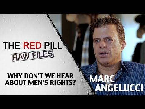 Why Don't We Hear About Men's Rights? | Marc Angelucci #RPRF