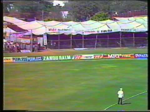 Cricket : England V West Indies (Jaipur) - 2nd Group Match World Cup 1987