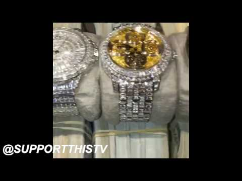 HIPHOP DIAMOND WATCHES (ROLEX,PATEK PHILLIPE,AUDEMARS)