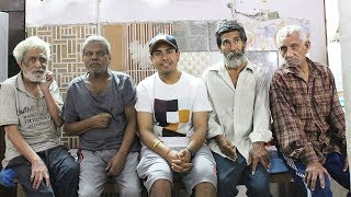 CELEBRATING BIRTHDAY AT OLD AGE HOME & ORPHANAGE FOR CHILDREN