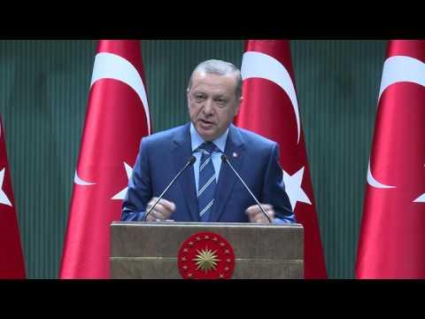 """""""Türkiye Aynı Saiklerle Hareket Eden Terör Örgütlerinin Saldırısı Altındadır"""""""