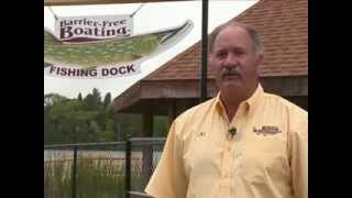 Providing barrier free boat to physically disabled at NO CHARGE in Otter Lake, MI. Thumbnail