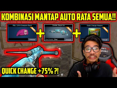 CAHWIGUNA + BERET PBLC + QC + SHOTGUN? RATA SEMUA!! // Gameplay Point Blank Zepetto Indonesia