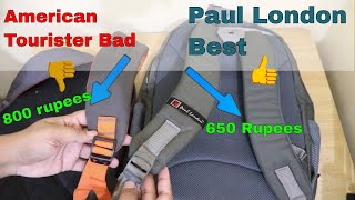 Paul London Pixel bag pack 35 liter.Water proof.With rain cover Best and Cheap bag in India.