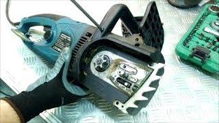 Как спасти электропилу после соседа, профилактика пластиковой шестерёнки