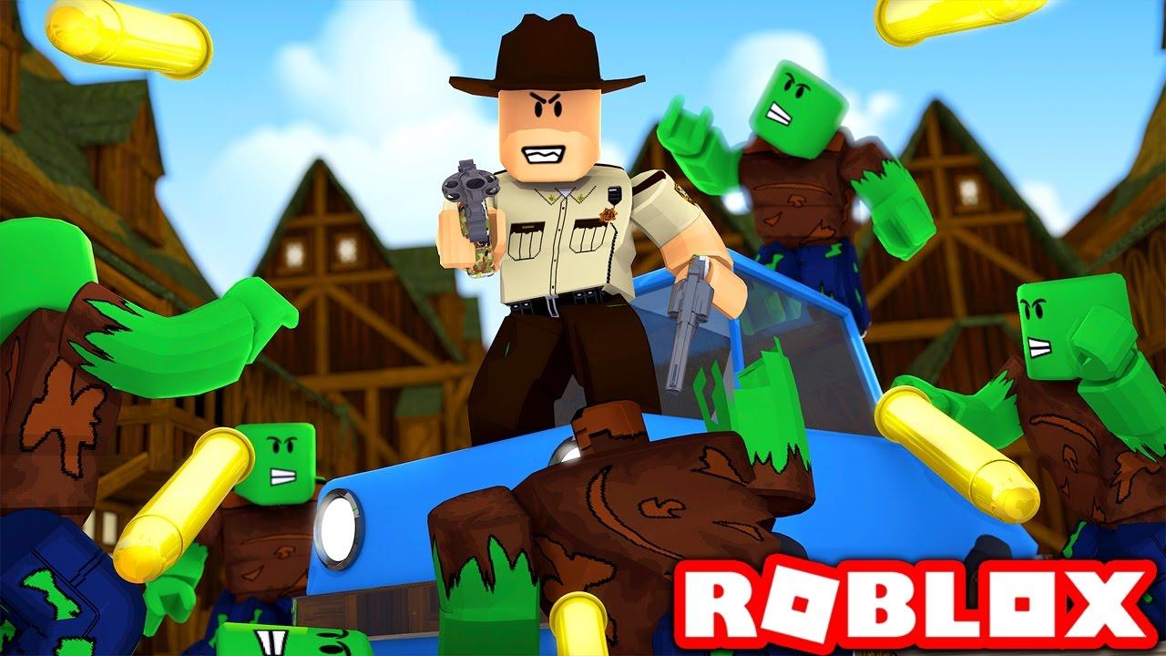 The Walking Dead In Roblox Roblox The Walking Dead Youtube