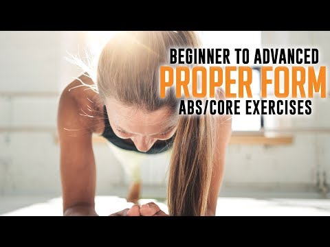 Proper Form Abs | Core Exercises - Xperience Fitness