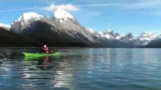 Sea Kayaking Canada AB, Maligne Lake