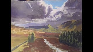 My Brothers Lakes Picture - Landscape Painting