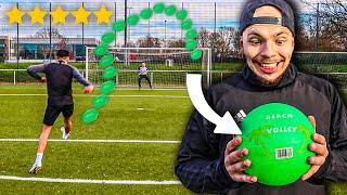 RUNDLAUF FUßBALL CHALLENGE MIT 1€ PLASTIKBALL! *TRAUMTORE*