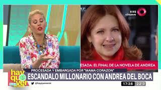 Andrea Del Boca Procesada Y Embargada