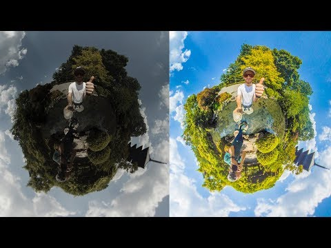 How To Stitch & Edit RAW 360 Photos