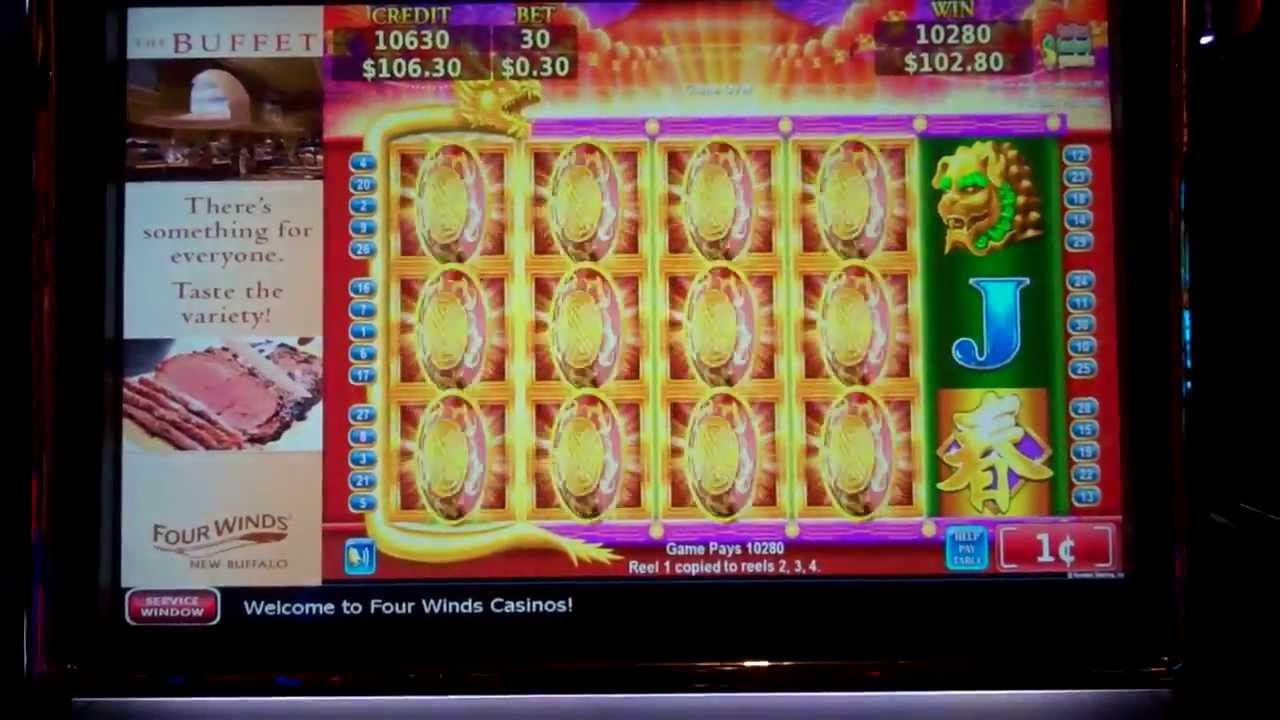 flying slot machine