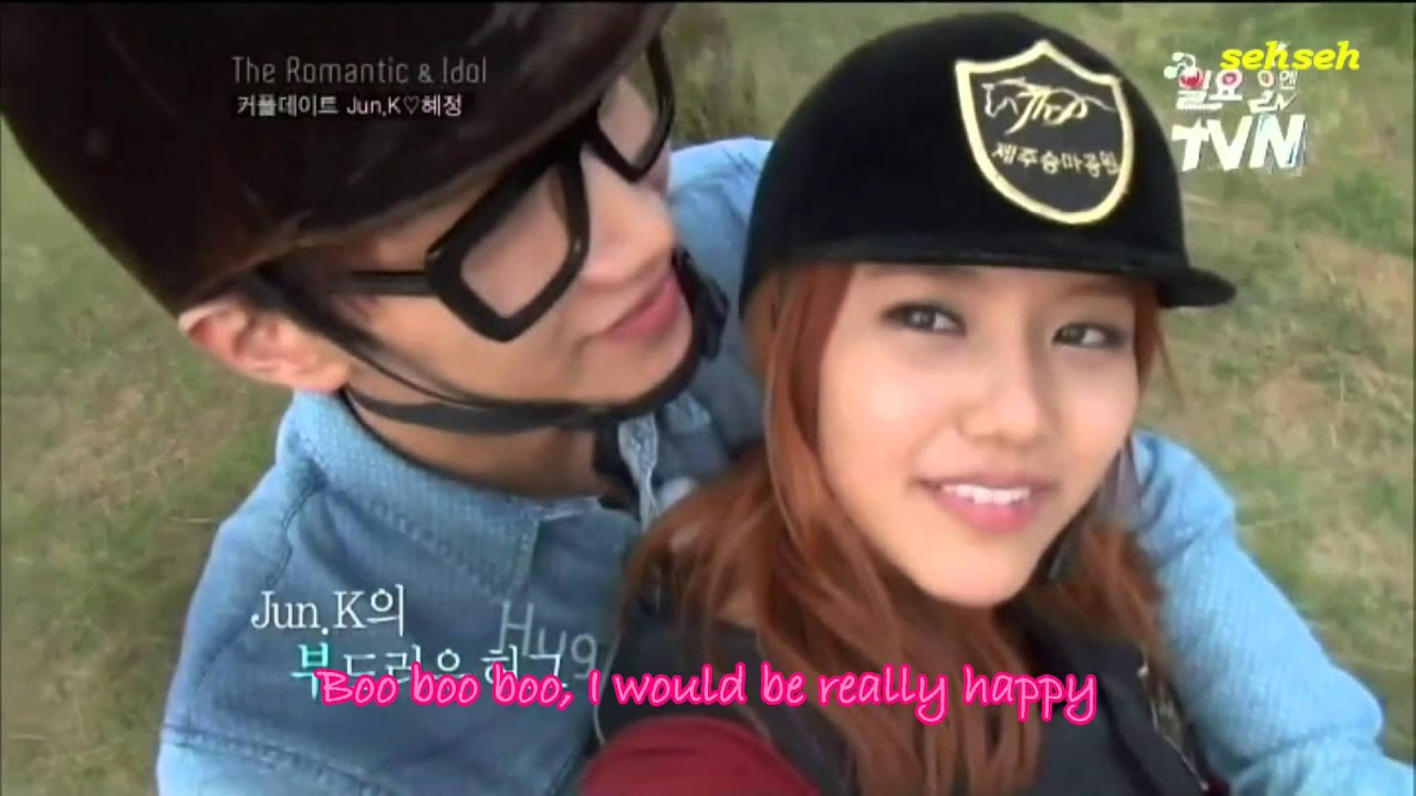 Jun K And Hyejeong Dating For Real