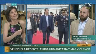 Venezuela: ayuda humanitaria y escalada violencia +Info