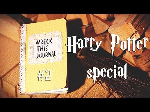 Wreck this journal Harry Potter| Уничтожь меня | WTJ| | Настя Клевер