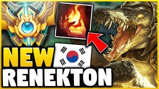 THIS 93% WINRATE RENEKTON BUILD IS CRUSHING CHALLENGER! (NEW OP STRATEGY) - League of Legends