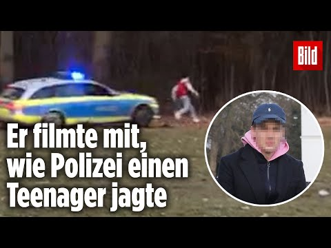 Polizei-Auto verfolgt Teenager im Park: Jetzt spricht ein Augenzeuge