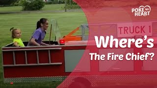 Fireman Builds Firetruck For Granddaughters