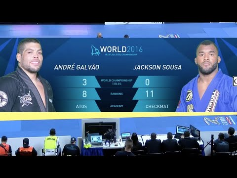 Andre Galvao VS Jackson Sousa / World Championship 2016