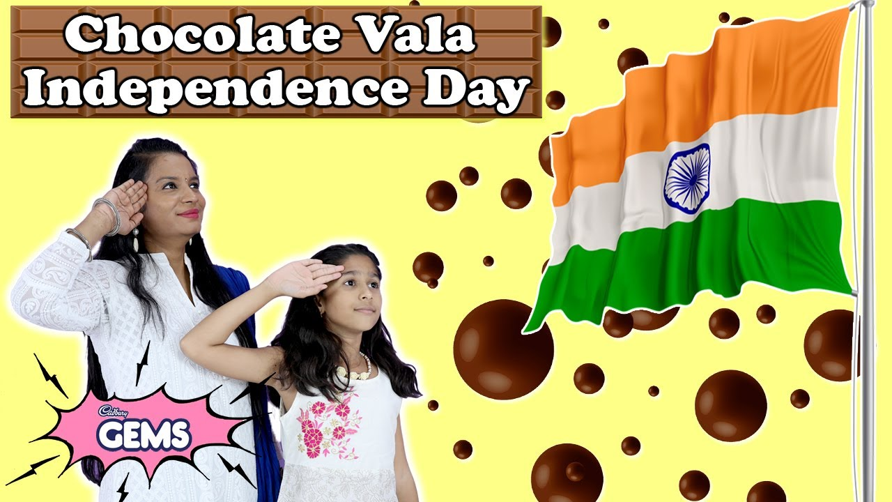 Pari Ka Chocolate Vala Independence Day | Pari Making #ColourfulTomorrow Art With Cadbury Gems