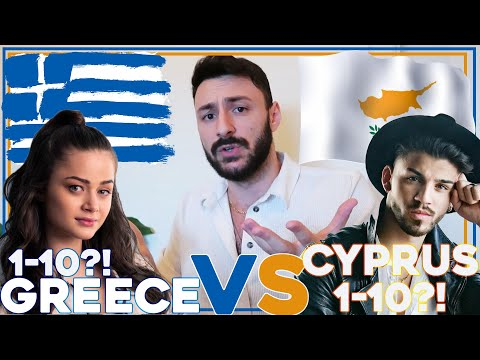 SERBIAN DUDE REACTING TO GREECE AND CYPRUS I EUROVISION 2020 BATTLE I STEFANIA VS SANDRO