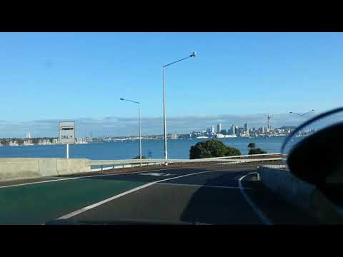 Northshore to auckland city