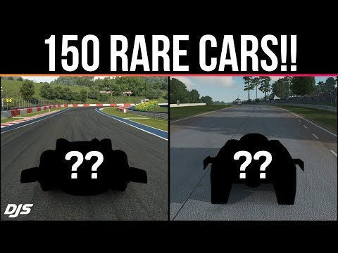 150 RARE CARS Found In Racing Games!!