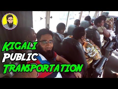 Traveling on the Local Bus in Kigali, Rwanda   Kigali Public Transportation