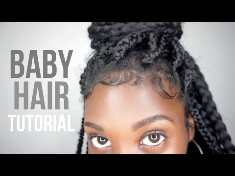 How To Slay + Lay Your Edges! Baby Hair Tutorial