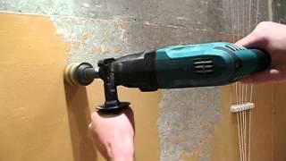 снятие краски со стен(Снятие краски с бетонной стены. Перед укладкой кафеля решил снять краску до бетона. Были опробованы разные..., 2012-05-12T18:52:45.000Z)
