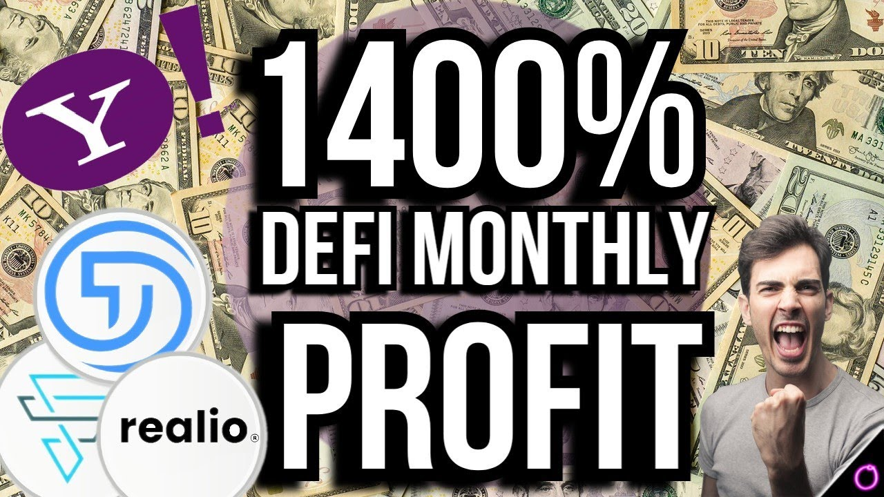 Get ready for some SWEET 1400% passive income GAINS with DEFI!