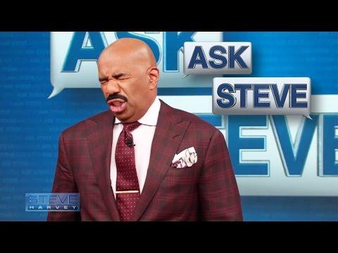 Ask Steve: Here's Brad Pitt's Number! || STEVE HARVEY