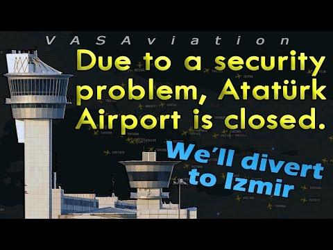 [REAL ATC] Terror attack at Istanbul-Atatürk Airport!