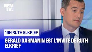 Gérald Darmanin face à Ruth Elkrief