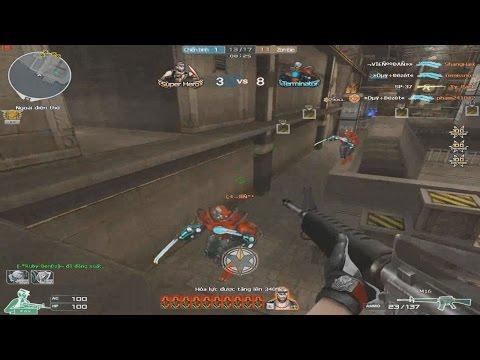 [ Bình Luận CF ] M16 30/420 viên KHÔNG VIP - Tiền Zombie v4