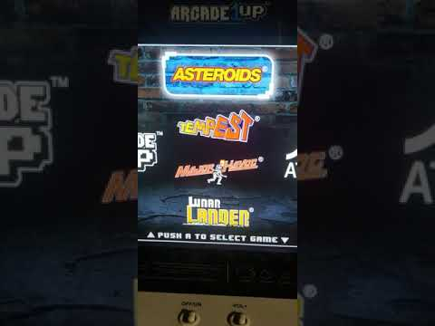 Arcade1up Asteroids Operating Instructions from esser1999