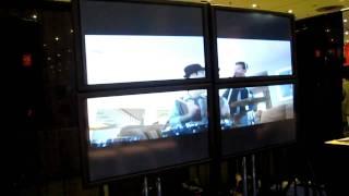 Josh Zuckerman music video showcasing at The Original GLBT Expo Video Lounge 2010