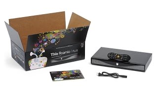 TiVo Roamio Plus HD Digital Video Recorder & Streaming Media Player 150 HD/1000 SD Hours Recording