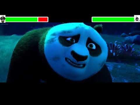 Kung Fu Panda 3 Final Battle With Healthbars