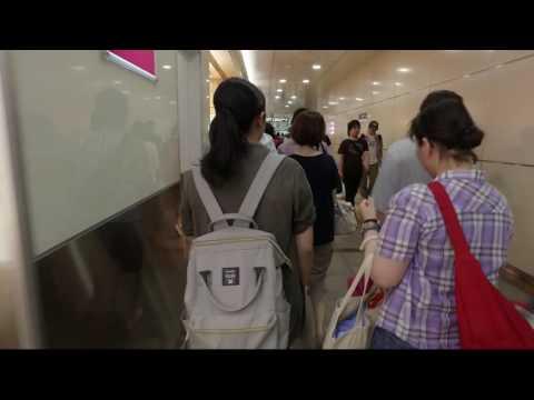 NAGOYA STATION, JAPAN - Amazing real life walk around