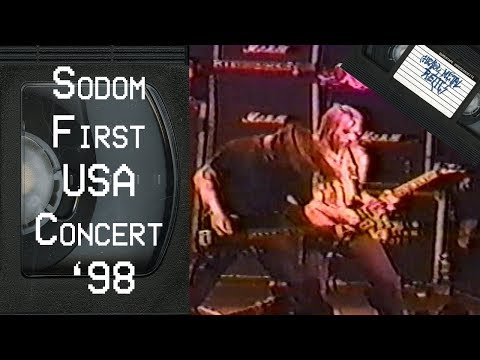 Sodom Live in Milwaukee, WI July 25, 1998 FULL CONCERT