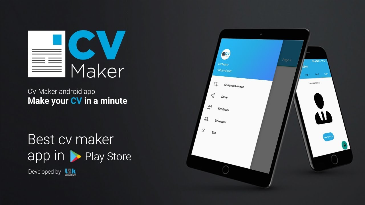 make cv in android in one minute  cv maker