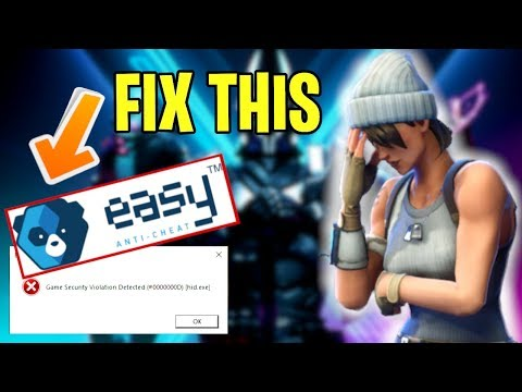 Fortnite Easy Anti Cheat Error Fix | Launch Error Possible Solution Tutorial
