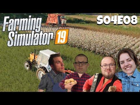 DET BOR EN GUTTA I ALLA | Farming Simulator 19 med figgehn, Ufo, Acai | S04E08