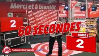 """17277 € in 90 seconds """"Crazy Shopping"""" by Media Markt Gosselies (Belgium)"""