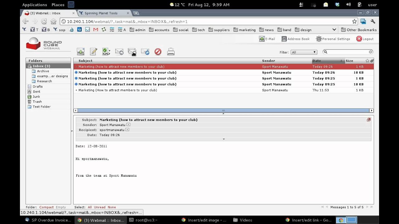 Roundcube Webmail Tutorial