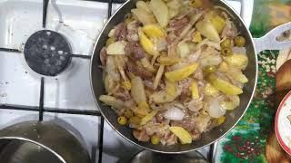 Солянка по-домашнему очень вкусный и простой рецепт