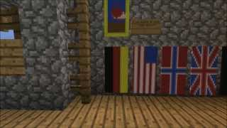 Minecraft how to make the german flag (banner)