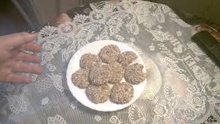овсяное диетическое печенье без муки, масла, яиц и сахара.